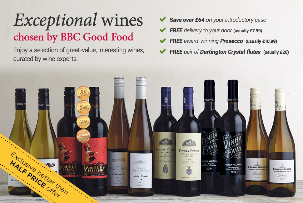Enjoy exceptional wines for better than half price - chosen by BBC Good Food