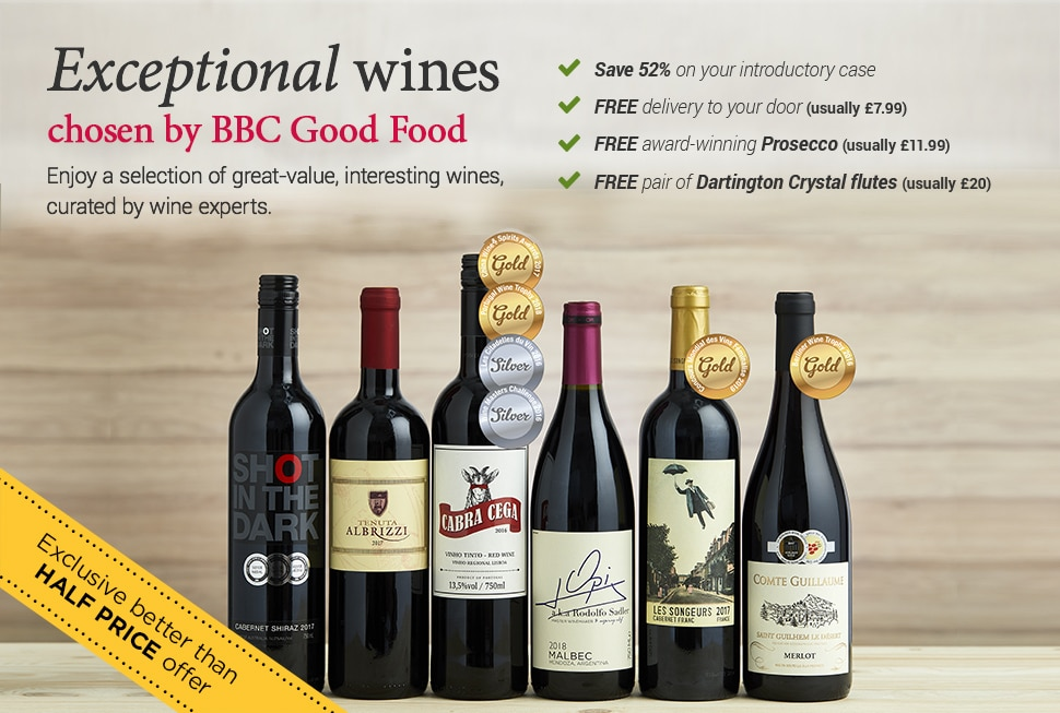 Enjoy exceptional wines for better than half price - chosen by BBC Good Food. BBC Good Food Seasons Mix