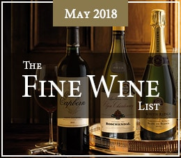 The Fine Wine List - May 2018