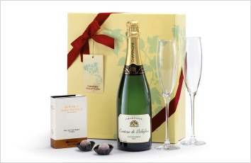Champagne Gift Set with glasses