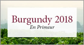 Burgundy 2018 - See our En Primeur offer
