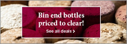Bin end bottles priced to clear! - See all deals >
