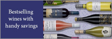 Bestselling wines with handy savings