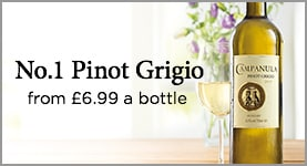 No.1 Pinot Grigio from £6.99 a bottle