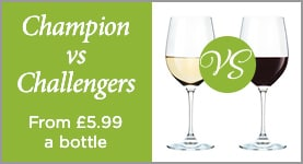 Champion vs Challengers - From £5.99 a bottle