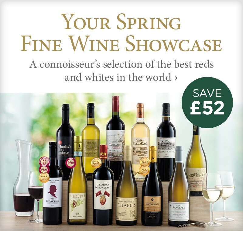 Your Spring Fine Wine Showcase