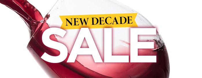 NEW DECADE SALE one-chance clearance prices ... from just £5.99 a bottle