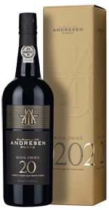 Andresen Royal Choice 20-year-old Tawny Port