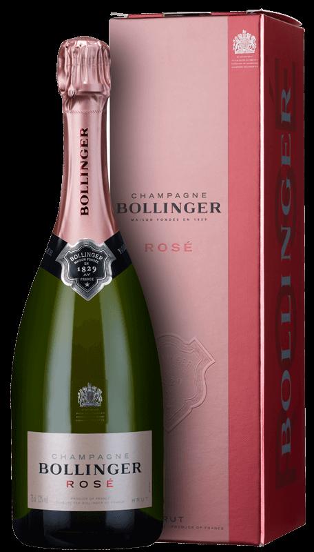 Champagne Bollinger Rosé Brut In Gift Box Nv
