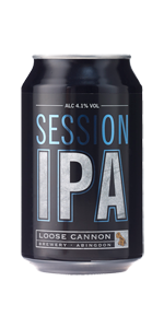 Loose Cannon Session India Pale Ale (33cl can)