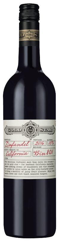 Gold Star Zinfandel 2016