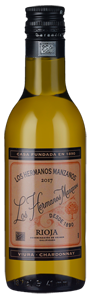 Los Hermanos Manzanos Blanco Barrica (187ml) 2017