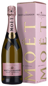 Champagne Moët & Chandon Rosé Impérial (in gift box)