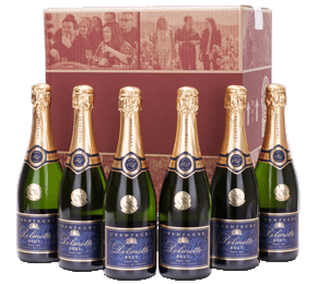 Six Delmotte Champagnes Gift NV