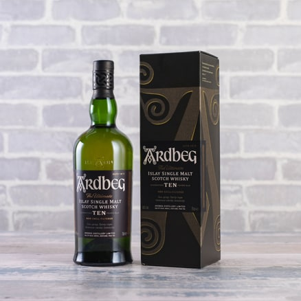 Ardbeg 10-year-old Single Malt Scotch Whisky NV