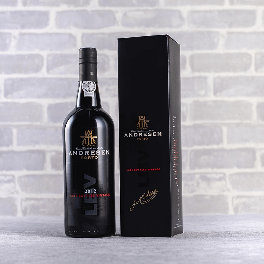 Andresen Late Bottled Vintage Port Gift 2012