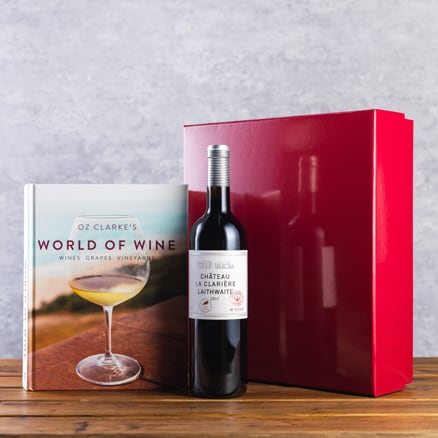 Oz Clarke's Book and Wine Gift Set