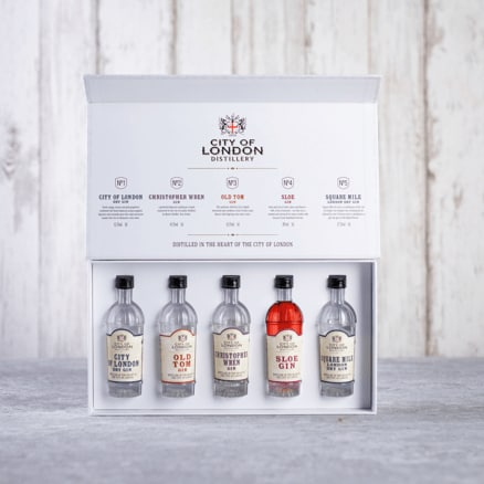 City of London Distillery Gin Set Gift