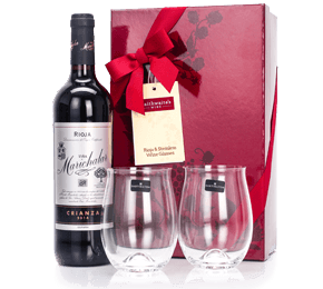 Rioja and Dartington Crystal Tumblers Gift Set