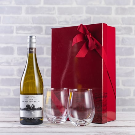 New Zealand Sauvignon & Dartington glasse Gift Set