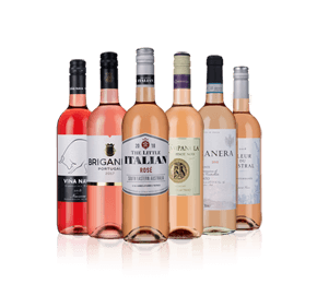 Fruity great-value rosés Six