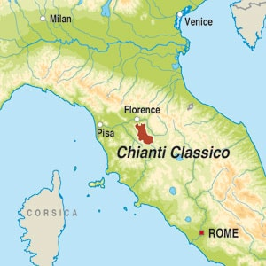 Chianti Region Italy Map.Product Details Bbc Good Food Wine Club